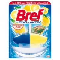Bref Duo-Aktiv Mediterranean Lemon tekutý WC blok...