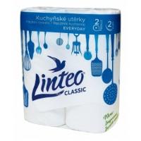 Linteo Classic kuchyňské utěrky 2 vrstvé 2ks