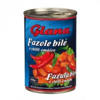 Giana Fazole v chilli omáčce 425g