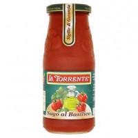 La Torrente Hotová rajčatová omáčka s bazalko...