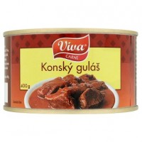 Viva Carne Koňský guláš 400 g