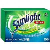 Sunlight All in 1 Tablety do myčky nádobí (24ks...