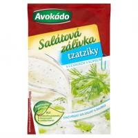 Avokádo Salátová zálivka tzatziky s česnekem ...