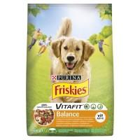 Friskies pro dospělé psy Balance s kuřetem a ze...