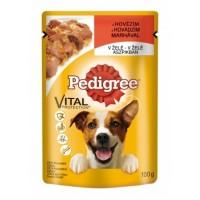 Pedigree Hovězí maso v želé kompletní krmivo ...