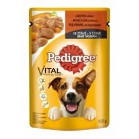 Pedigree Krůtí maso s mrkví kompletní krmivo p...