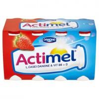 Danone Actimel Jogurtové mléko jahodové 8 x 100...