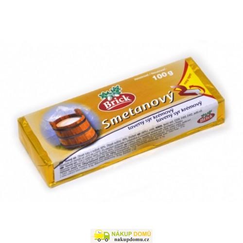Brick Tavený sýr Smetanový 100g
