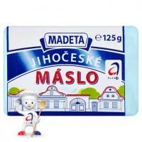 Madeta Jihočeské máslo 125g