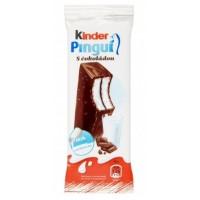Kinder Pinguí piškotový řez s mléčnou nápln...