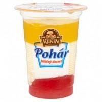 Mlékárna Kunín Pohár mléčný dezert jahoda 1...