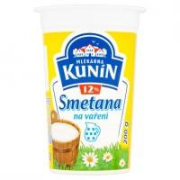 Mlékárna Kunín Smetana na vaření 12% 215g