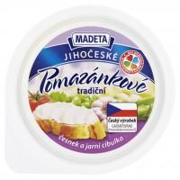 Madeta Jihočeské pomazánkové tradiční česne...