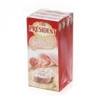 Président sýr tavený šunkový chlaz. 150g