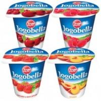 Zott Jogobella Classic 2,5% Mix (broskev, višeň,...