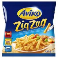 Aviko Zig Zag bramborové hranolky do trouby vlnko...