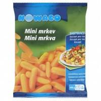 Nowaco Mini mrkev hluboce zmrazená 400g
