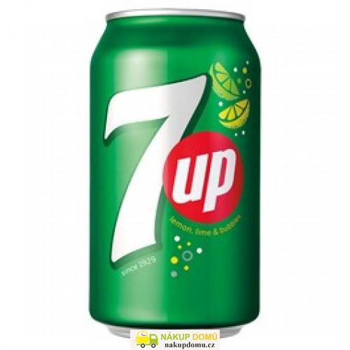 7UP nápoj 330ml plech