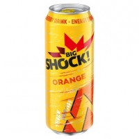 Big Shock! Orange energetický nápoj 500ml