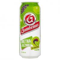 Gambrinus Limetka & bezinka míchaný nápoj z...
