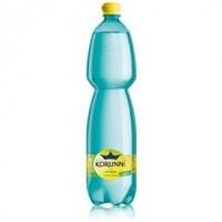 Korunní Citron jemně perlivá voda 1,5L PET