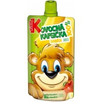 Kubík 100% ovocná kapsička banán-jablko 100ml