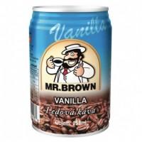 Mr. Brown Vanilla kávový nápoj 250ml
