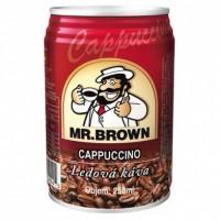 Mr. Brown Cappucino ledová káva 250ml