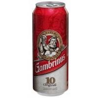 Gambrinus Originál 10, světlý výčepní, plech...