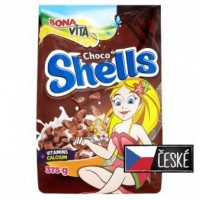 Bona Vita Choco shells obilné mušličky s kakaem...