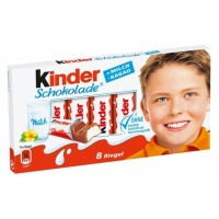 Kinder Chocolate tyčinky z mléčné čokolády s...