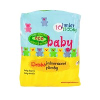 Eco Baby Junior plenky 11-25 kg 10 ks