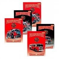 Sešit A5 32 listů hasiči