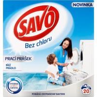 SAVO prací prášek bílé prádlo 20 praní 1,4 ...