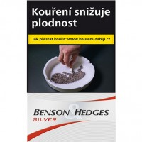 Benson & Hedges silver 20ks