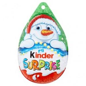 Kinder Surprise vajíčko s mléčnou čokoládou a s překvapením 20g