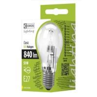 Emos žárovka eco halogen a55 53w e27 teplá bíl...