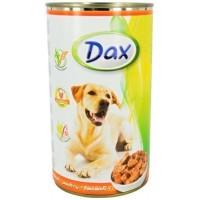 Dax konzerva pro psy drůbeží 1,24kg