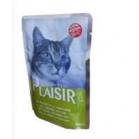 Plaisir kapsičky pro kočky losos+treska 100g