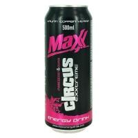 Maxx energetický nápoj circus 0,5L plech