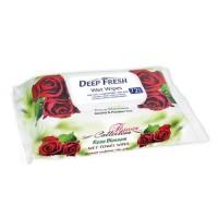 Deep Fresh vlhčené ubousky collection rose s kli...
