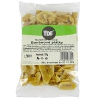 TDF banánové plátky 100g