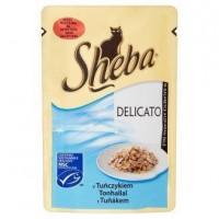 Sheba kapsíčka pro kočky Delicato tuňák v že...