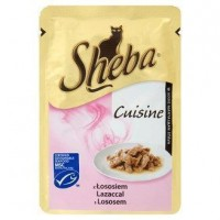 Sheba kapsíčka pro kočky Cuisine losos ve šť�...