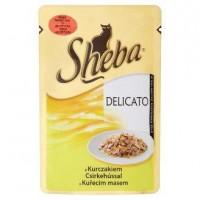 Sheba kapsíčka pro kočky Delicato kuřecí v ž...