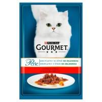 Gourmet perle kapsíčky pro kočky hovězí+mrkev...