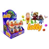 Aras vajíčka lolly baby toys plastové +lentilky...
