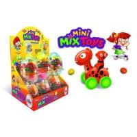 Aras vajíčka mini mix toys plastové +lentilky 1...