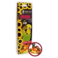 Fine Pet tyčinky exotické ovoce pro andulky 110g