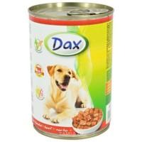 Dax konzerva pro psy hovězí 415g